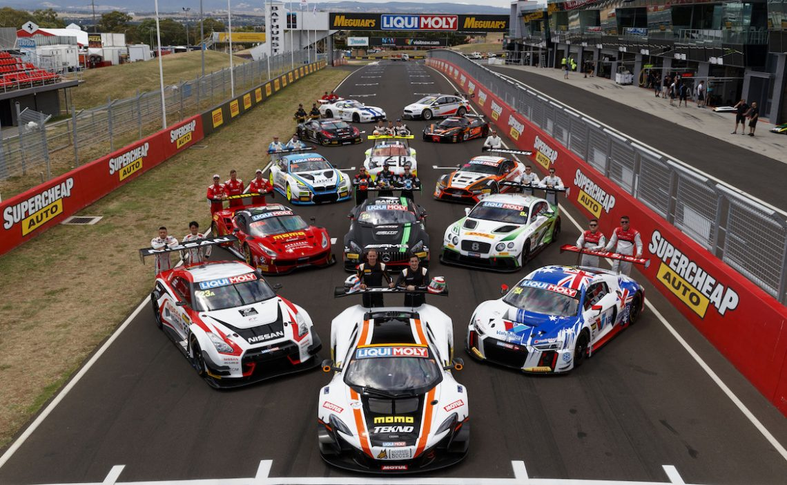 Impressive Provisional Line Up For Bathurst 2018
